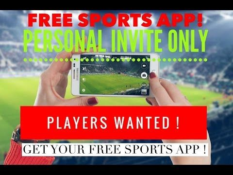 United Games Free Sports App! Launching Soon NEW FREE SPORTS APP , Play and Interact with LIVE GAMES . Play By yourself or share and play with friends, Plus you can WIN PRIZES , Holidays , Cars , Tickets etc . Get Your FREE Activation Code Here : http://freesportsapp.dgh-marketing.com/