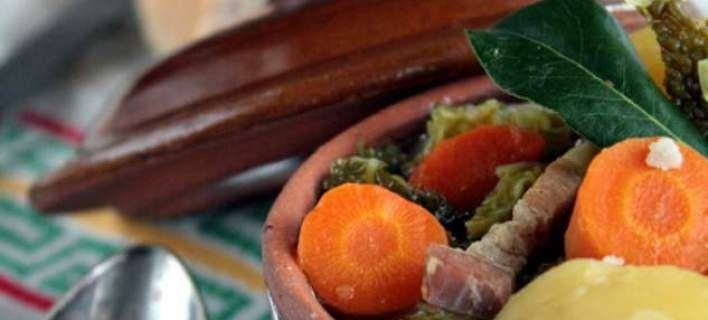 Σούπα με λάχανο και μπέικον