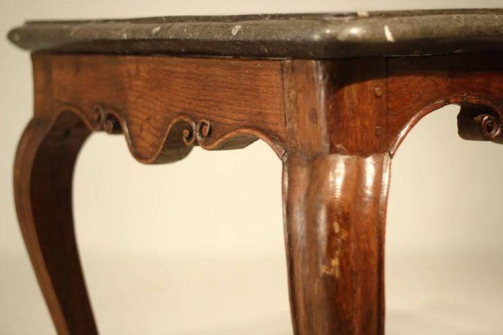 XV. Louis furniture, eredeti barokk asztal