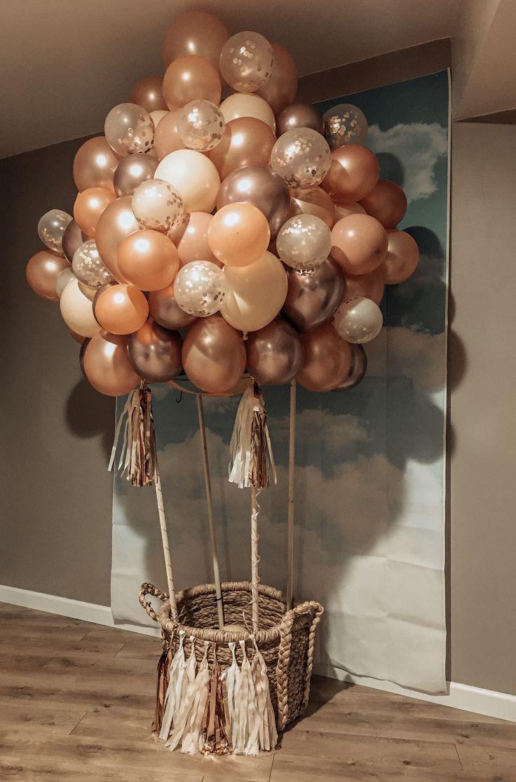 Diy Hot Air Balloon Air Babyshower Balloon Diy Hot Diy