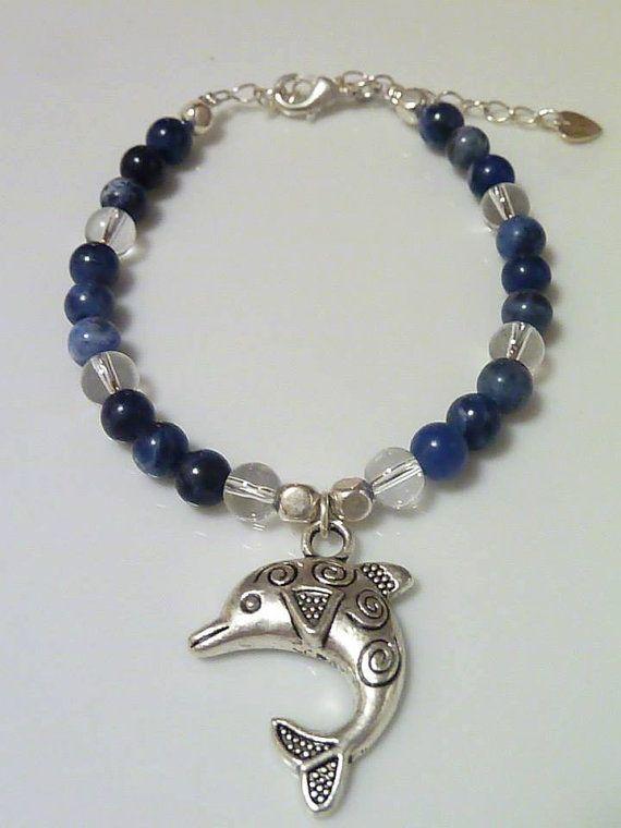 Sodalite Bracelet by MystiqueCrystal on Etsy, $16.00