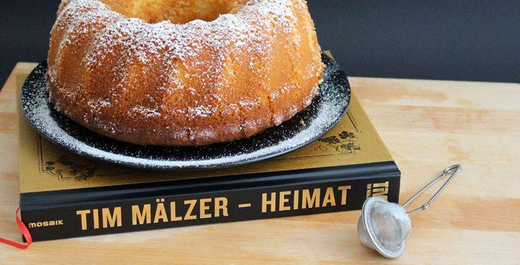 So schmeckt Heimat heute! Das neue Buch von Tim Mälzer und ein zitroniger Gugelhupf | Fräulein Sommerfeld