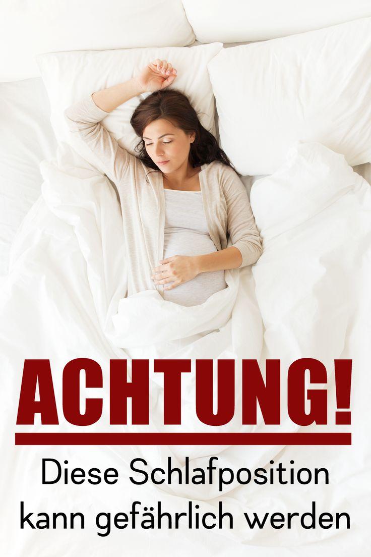 Eine englische Studie zeigt jetzt, dass Schwangere, die in dieser Position schlafen, ein erhöhtes Risiko für eine Totgeburt haben. #Schwangerschaft