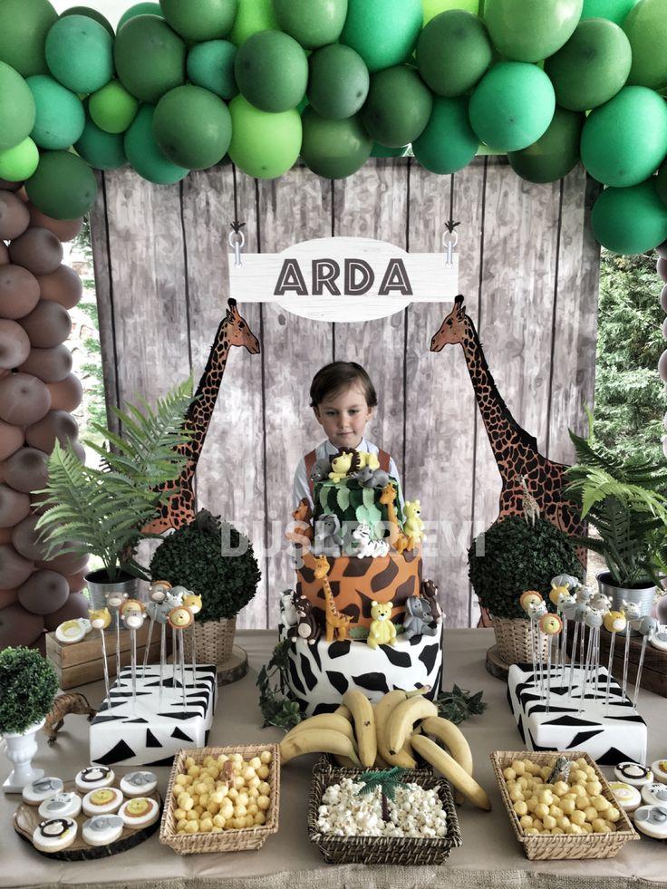 doğumgünü safari birthday party