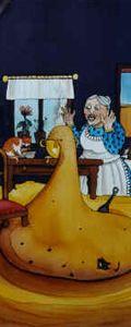 """Der süsse Brei - """"Es war einmal ein armes, frommes Mädchen, das lebte mit seiner Mutter allein, und sie hatten nichts mehr zu essen."""""""