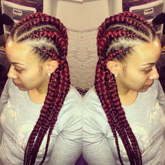 Pictures goddess styles braids
