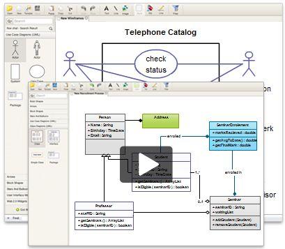 Quickly Create UML diagrams using Creately