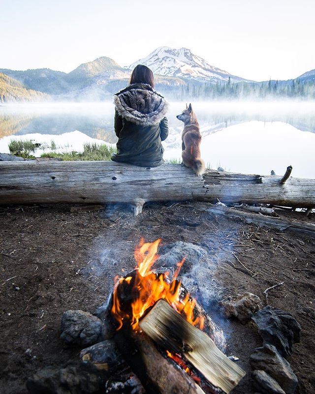 So many memories!  Solo camping with my pup.  Sweet solitude.  Soul food.