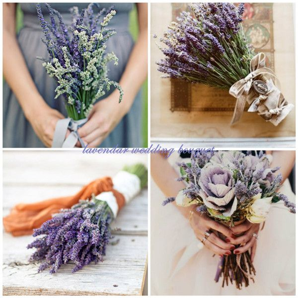 Top Romantic Lavender Infused Wedding Ideas and Invitations -InvitesWeddings.com    lavender wedding bouquets
