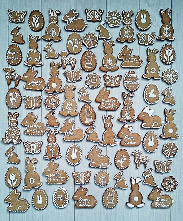 Húsvéti mézeskalácsok!  Easter gingerbread!