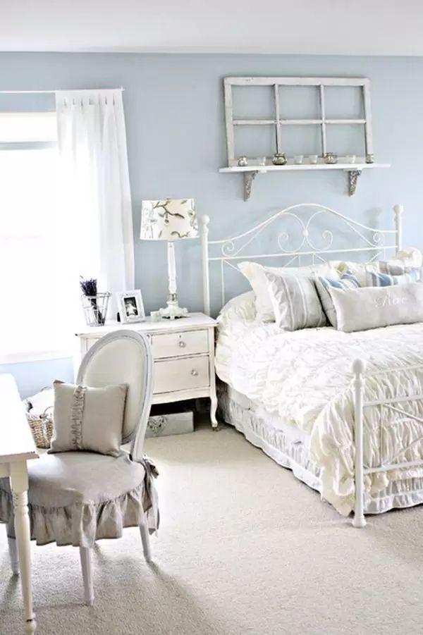 20 Amazing Shabby Chic Bedrooms