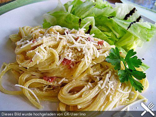 Spaghetti alla Carbonara nach Südtiroler Art (Rezept mit Bild) | Chefkoch.de