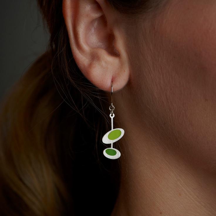 Two Rings Earrings :: {by Spark Metal Studio}