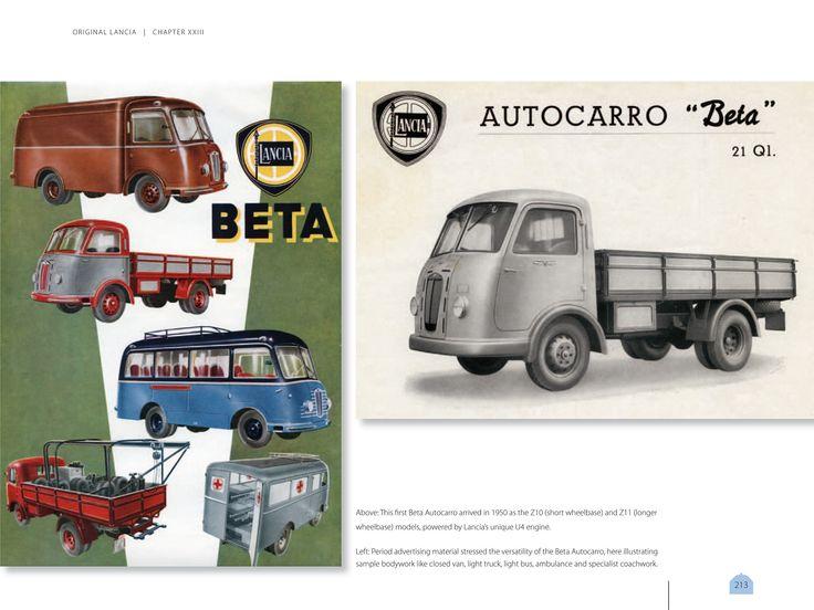 Lancia Beta Autocarro brochure