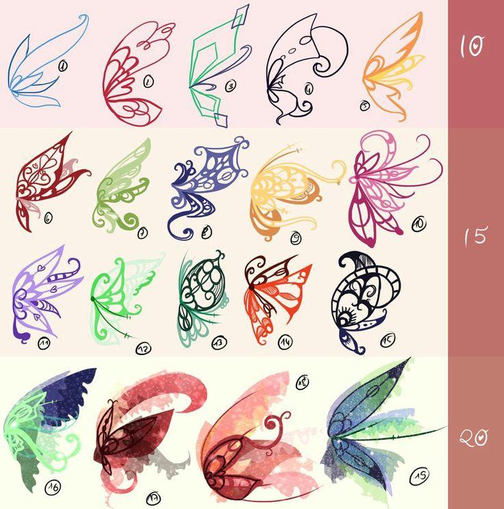Fairies' wings