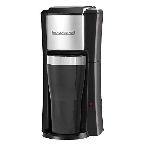 BLACK+DECKER CM618 Single Serve Coffee Maker, Black