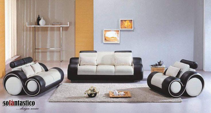 Il divano Flora ha un #design unico ed è ricco di pratici dettagli come i poggia testa regolabili, il vassoio porta bevande e i poggia piedi recliner. #interiordesign #divano