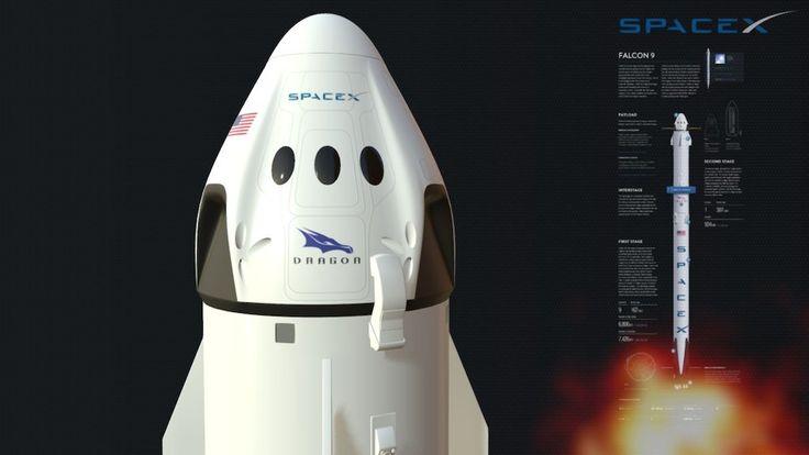 SpaceX Falcon 9 by Virtual Studio - buy 3D model