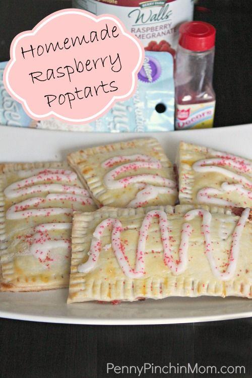 homemade raspberry poptart pin