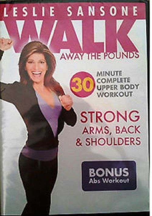 Weight Loss DVD Fitness DVD's Walking Leslie Sansone,30 Minute Workout  (New)