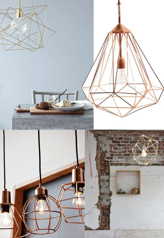 luminaires geometrique