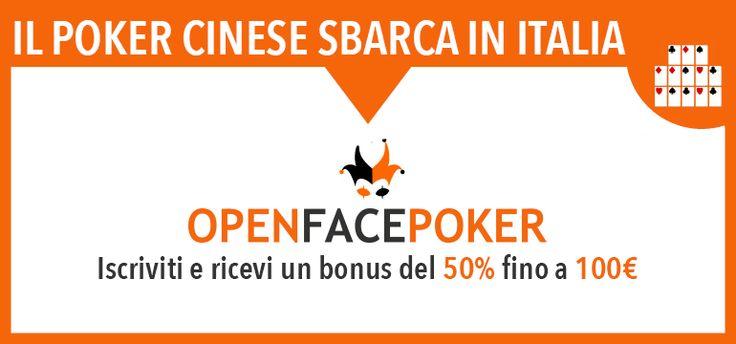 Solo per oggi e domani 5 euro GRATIS senza deposito per i nuovi registrati su OpenFacePoker - http://www.continuationbet.com/poker-bonus-promozioni/solo-per-oggi-e-domani-5-euro-gratis-senza-deposito-per-nuovi-registrati-su-openfacepoker/