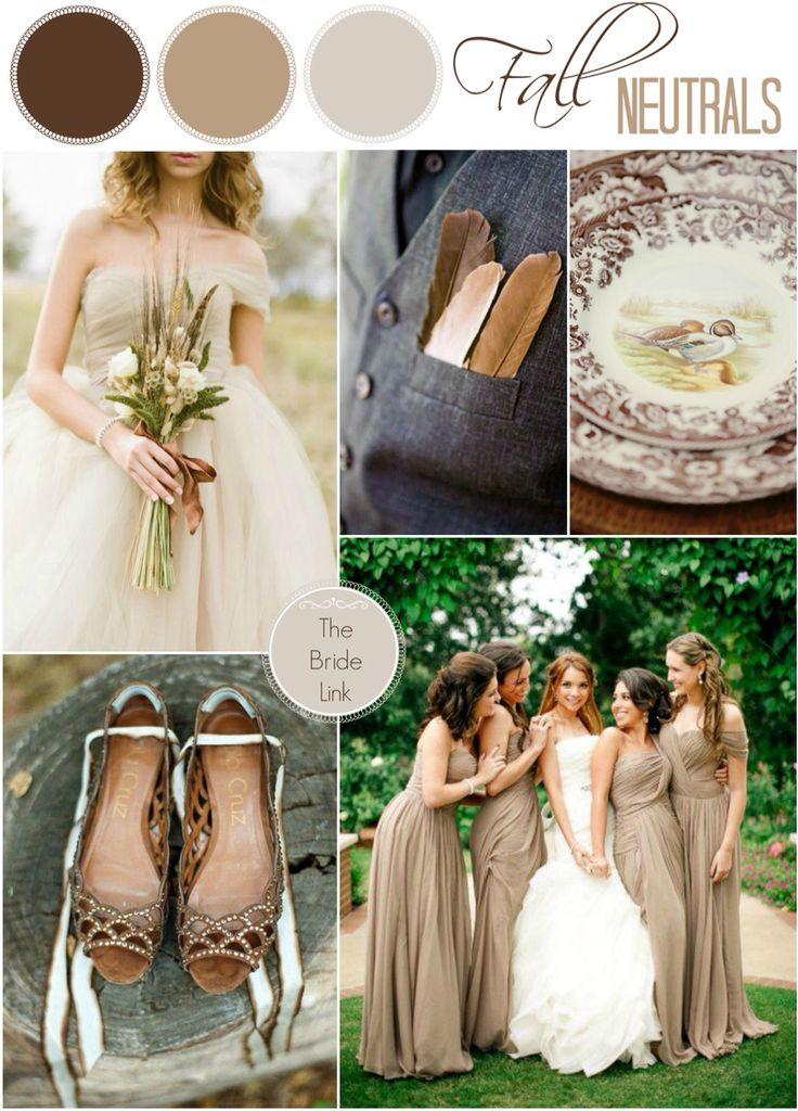 52 best Neutrals Wedding Palette images on Pinterest | Colour ...