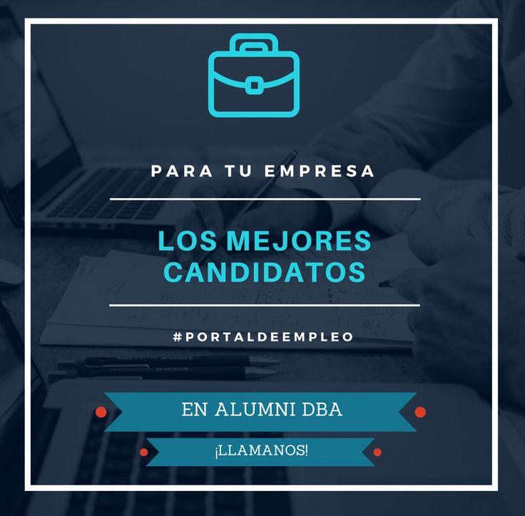 Alumni DBA, es la encargada en la Universidad de Deusto de gestionar todos los candidatos que necesitas que tengan alguna titulación de la facultad de Ciencias Empresariales, Deusto Business School, tanto en su campus de Bilbao, San Sebastián y la sede de Madrid. Si quieres talento debes ponerte en contacto con nosotros.