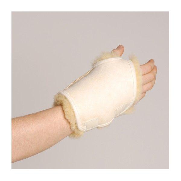 MUÑEQUERA DE LANA NATURAL - REF: 10502: De pura lana. Previene úlceras de presión. Proporciona alivio del dolor y terapia térmica.