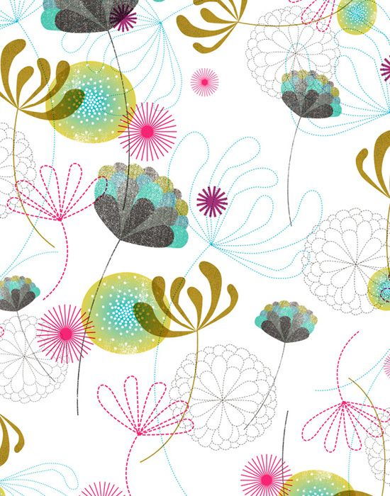 Pattern design by illustrator/designer Dante Terzigni (Ohio).