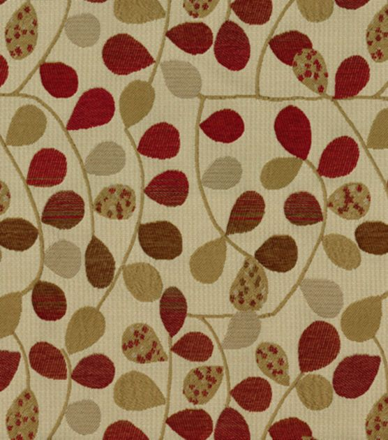 Richloom Studio Upholstery Fabric Bayberry Rouge A Well
