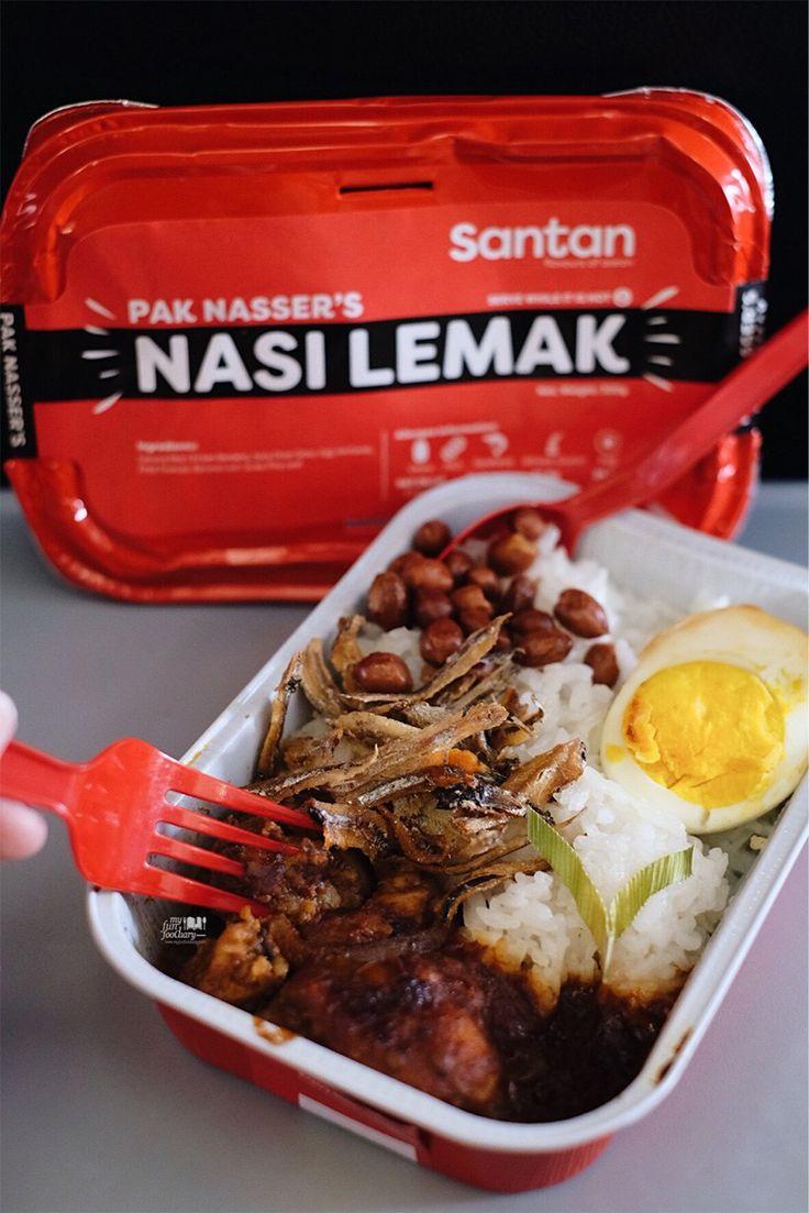 Nasi Lemak Pak Nasser's by AirAsia's Santan - inflight meal