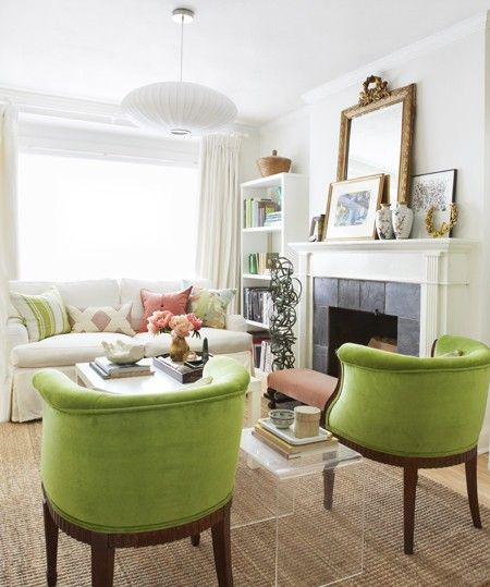 Best 25 green chairs ideas on pinterest emerald green for Fun living room furniture