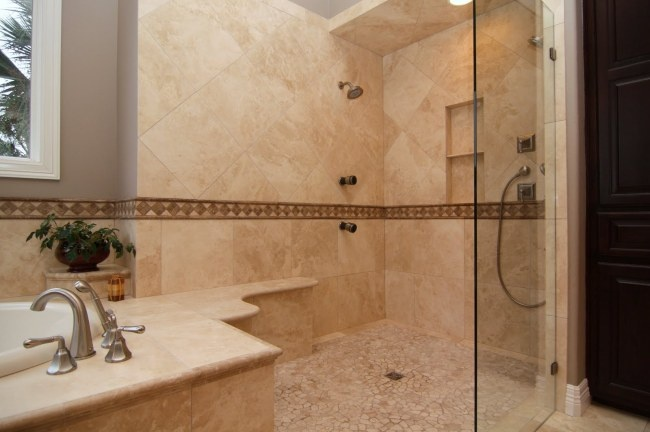 17 best images about travertine bathrooms remodel austin for Bath remodel austin