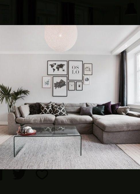 Industrigata Oslo. Livingroom.