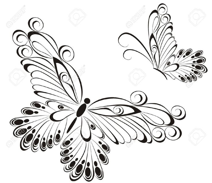25 best ideas about mariposas para pintar on pinterest - Mariposas para pintar ...
