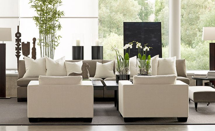 gorgeous contemporary styling for the living room by Slettvoll