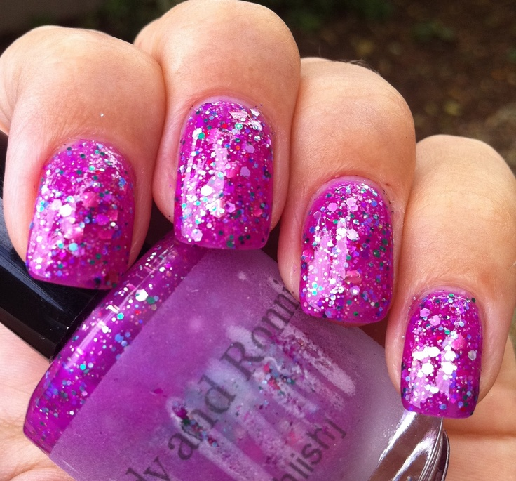 Pahlish - Candy and Ronnie: Nails Nails, Nails Stuff, Nails Artistry, Nails Design S, Beautiful Nails, 3 Nails, Nails Ideas, Nails Polish, Nails 3