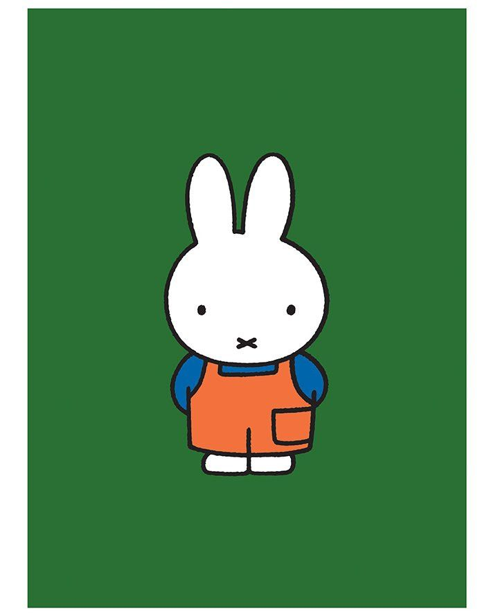 Miffy in Dungarees print