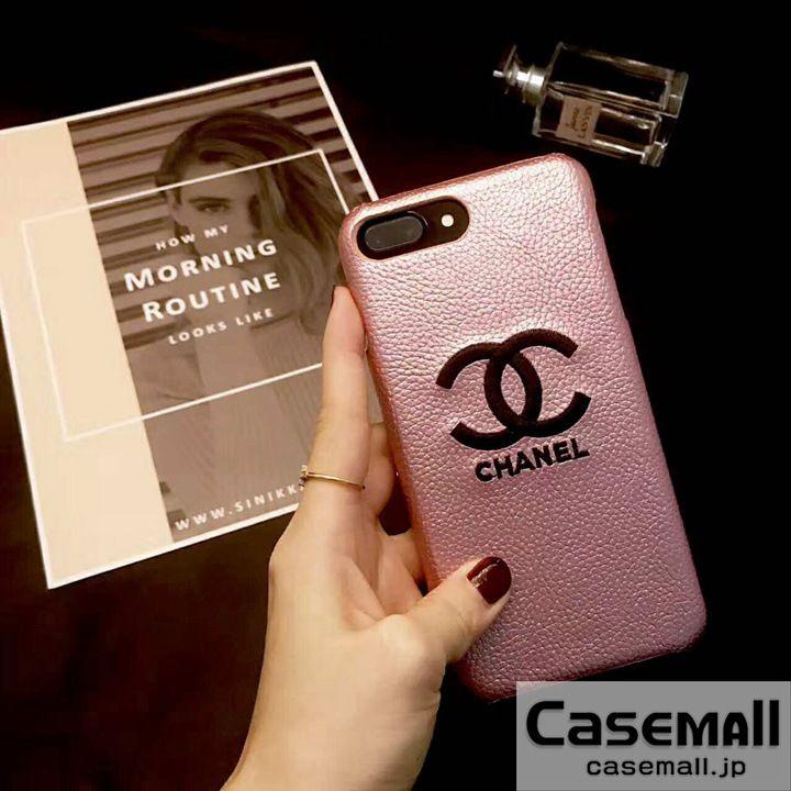 CHANEL iphone8 ケース ジャケット型 ピンク シャネル iphone7s/7 カバー ハードケース