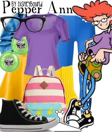 Disney Bound - Pepper Ann