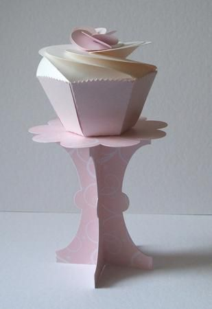 3d+paper+templates+free | This is a lovely design, so easy to make and would look great on the ...