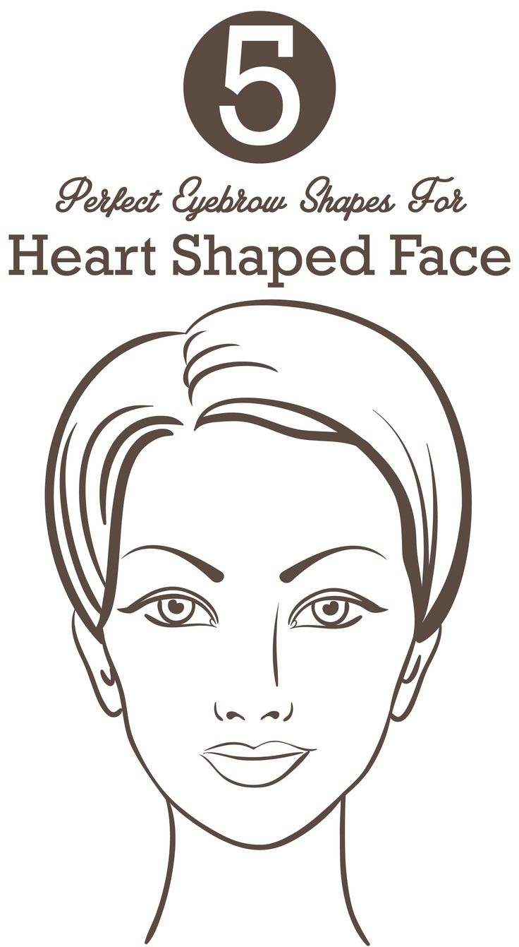 Pretty ladies with a heart shaped face; it's time for you to find your oomph factor with these 5 perfect eyebrow shapes for heart shaped faces. Read on to know more