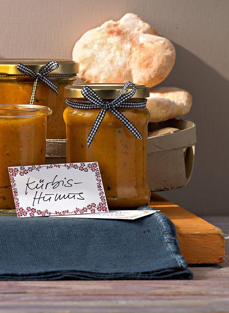 Gebackener Kürbis und Knoblauch mit Olivenöl als Aufstrich, Dip oder Nudelsoße