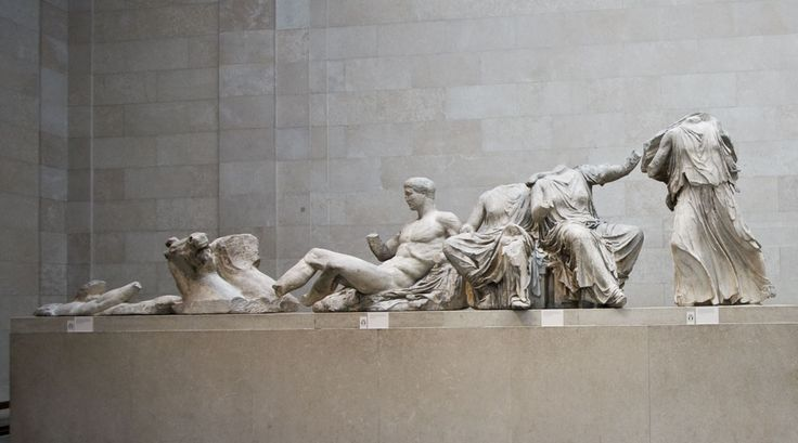 Elgin Marbles (from the Parthenon), British Museum, London