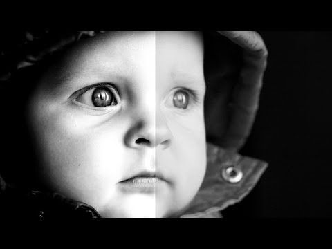 ▶ Photoshop CS5 Tutorial: Dramatic Black & White Portrait - YouTube. I like 5 and 95...you can also change the mid-point.