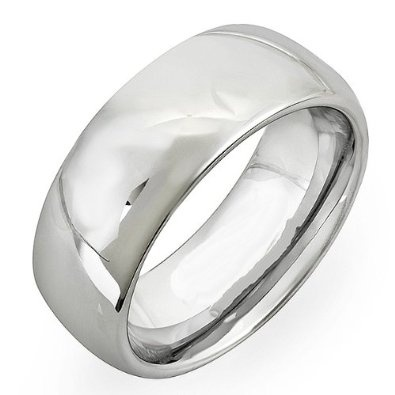 Cobalt Men's Dome Wedding Band 7MM Polished Shiny Comfort Fit (Available in Sizes 7 to 12): Jewelry: Amazon.com