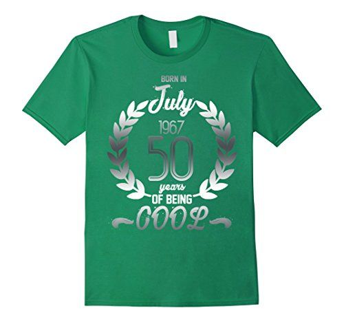 Mens Born In July 1967 50 Years Of Being Cool T-shirt Sil... https://www.amazon.com/dp/B073N2NT79/ref=cm_sw_r_pi_dp_x_ExUwzb85XME13