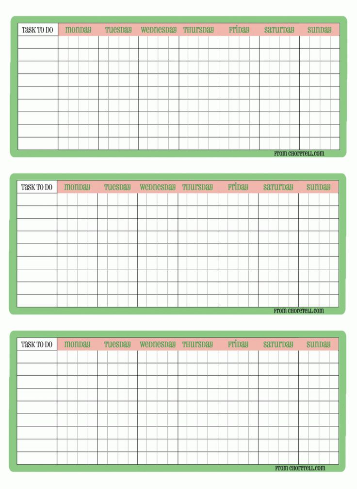 55 best Chore Charts images on Pinterest | Free printable chore ...