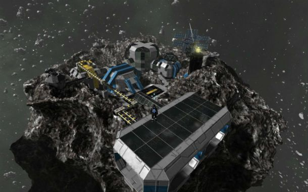 space engineers asteroid ship - photo #11